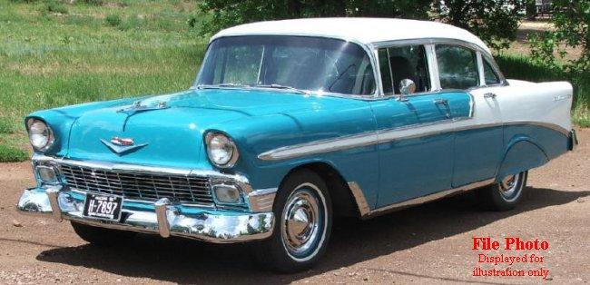 Midlife classics 1956 chevy belair 4 door restoration for 1956 belair 4 door