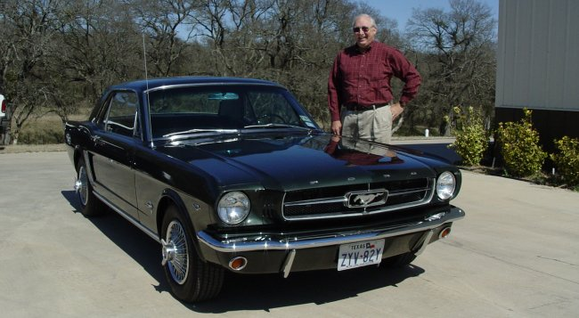 Van And Sandra S 1965 Mustang Coupe Has Been In The Family Since Pas Bought Car New December Of 1964 Over Years It Had Its Share